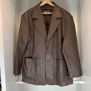 EUC Guide Gear Leather Jacket Size XL